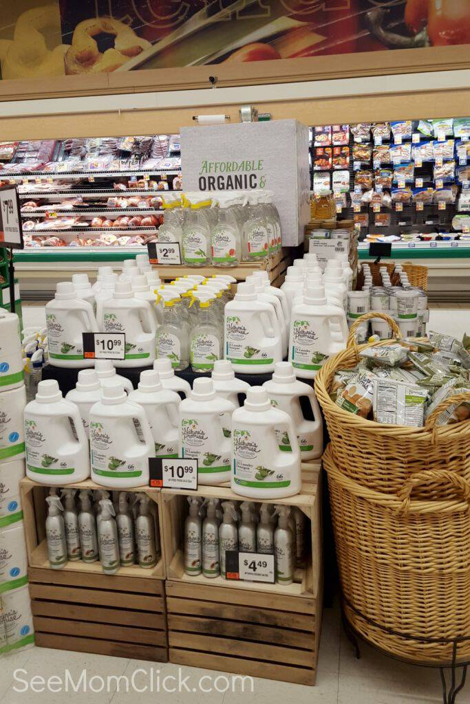 GIANT Food Stores has expanded their Nature's Promise line with more organics and safer products that are affordable for everyone.