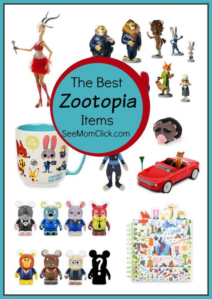 Disney's ZOOTOPIA hits theaters on March 4, 2016. The merch for this movie is adorable! Here are some of my favorite picks.