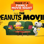 The Peanuts Movie Family Movie Night + Digital Copy Giveaway!
