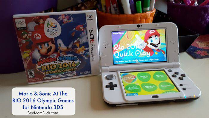 Are you ready for the Summer 2016 Olympics? Now YOU can compete with Mario & Sonic at the Rio 2016 Olympic Games for Nintendo DS!