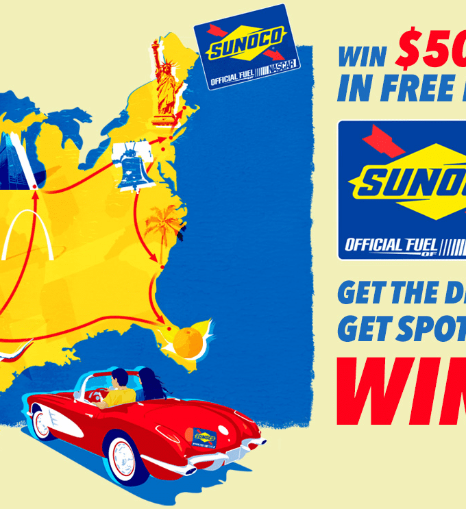 Want to win some free gas? Of course we do. Check out the details on Sunoco's Free Fuel 5000 Decal Hunt plus I have a chance to win a $25 gift card!