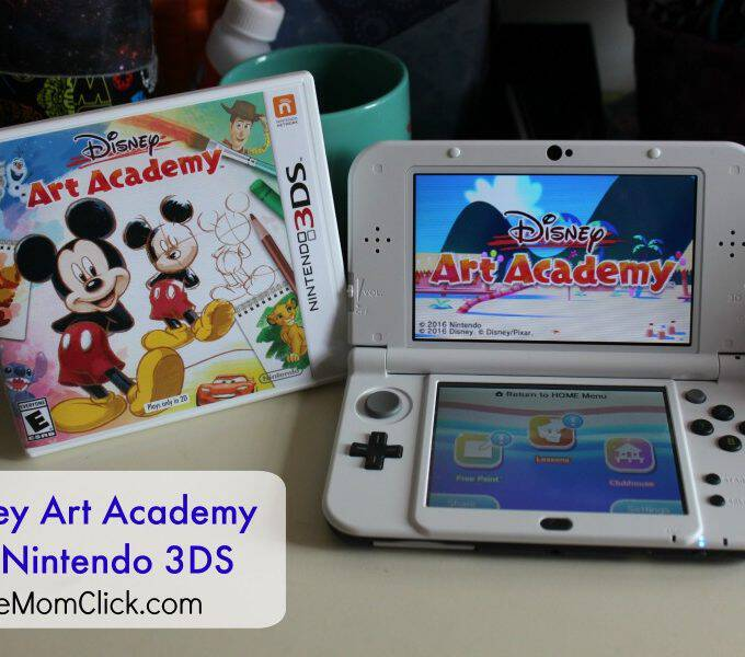Become a Disney Artist with Disney Art Academy for Nintendo 3DS