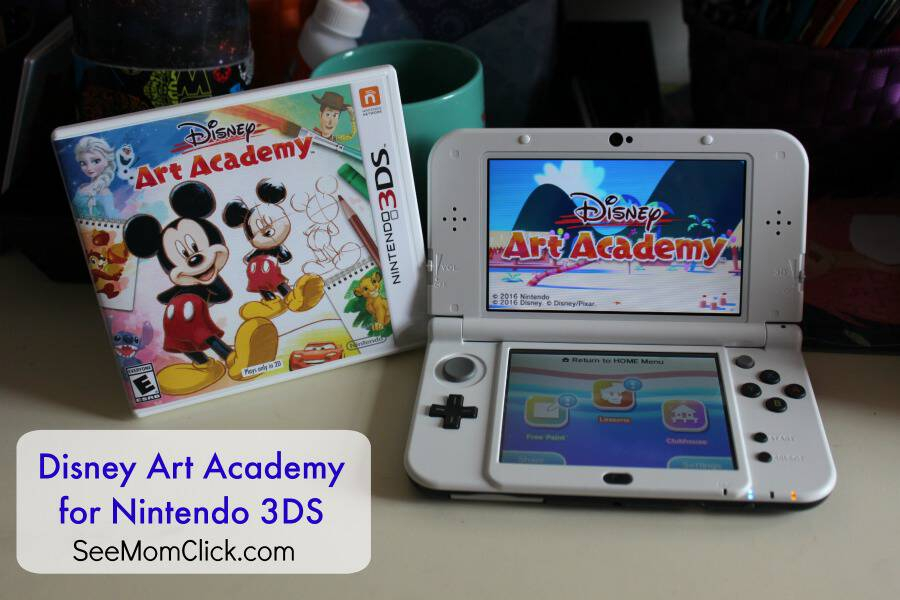 Disney Art Academy for Nintendo 3DS - See Mom Click