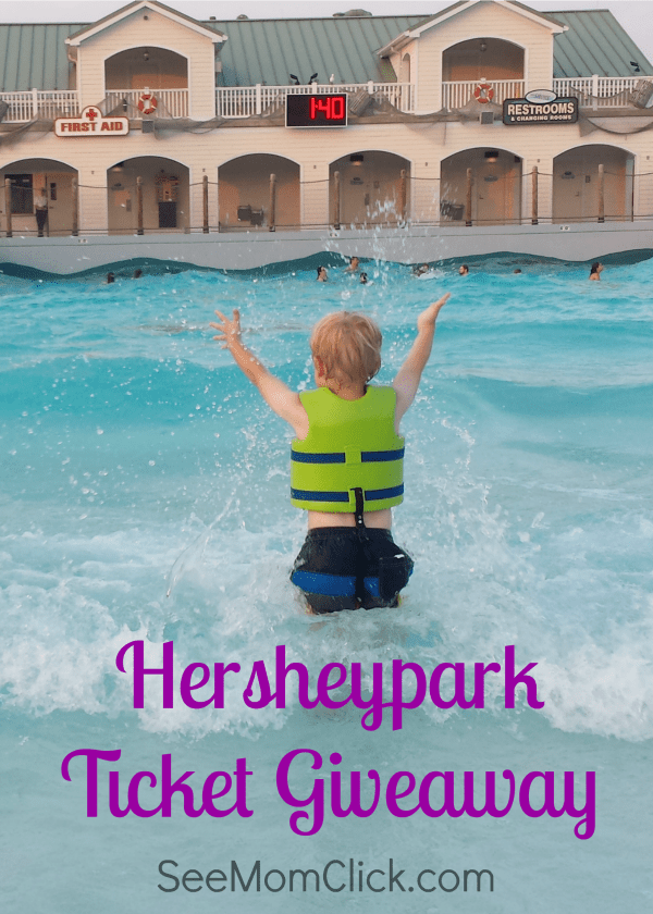 Don't miss my Hersheypark Ticket Giveaway and your chance to win a family 4-pack of tickets for the 2016 season at our FAVORITE family park!