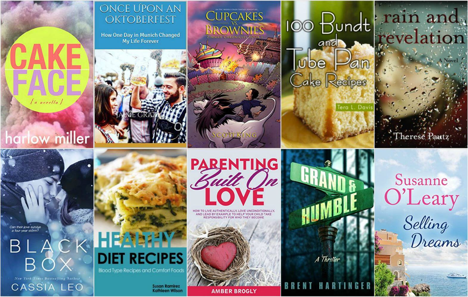 10 Free Kindle Books 7-18-16