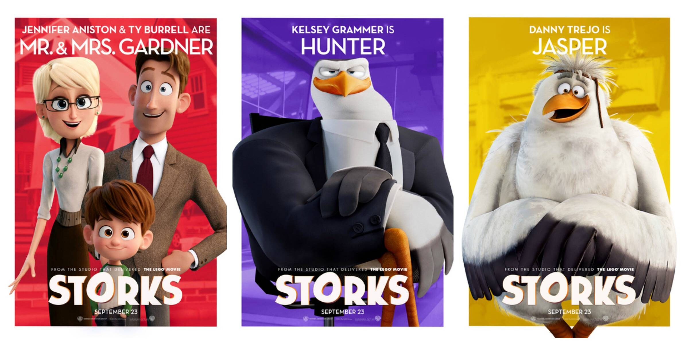 Storks Characters 1