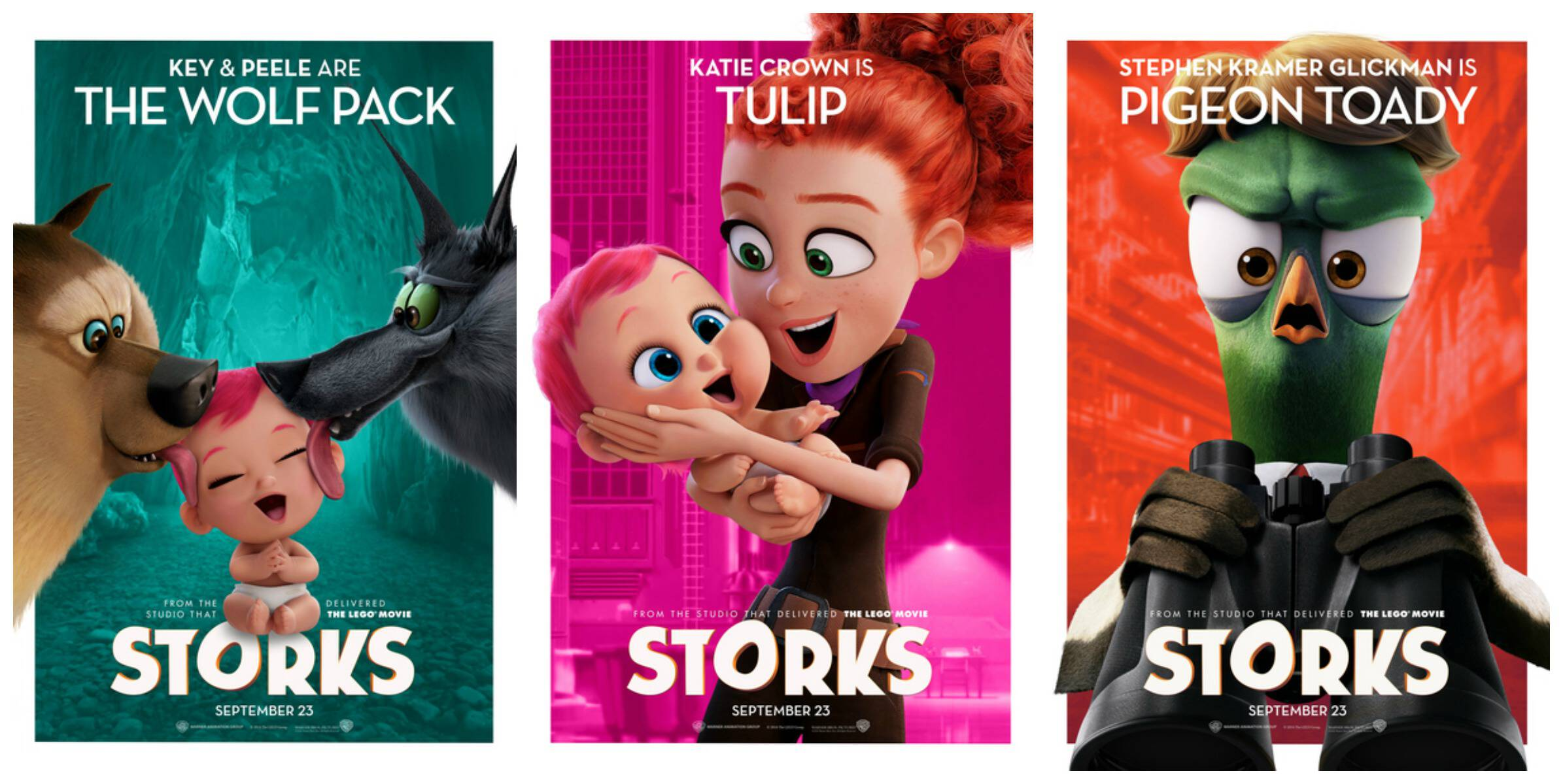 Storks characters 2