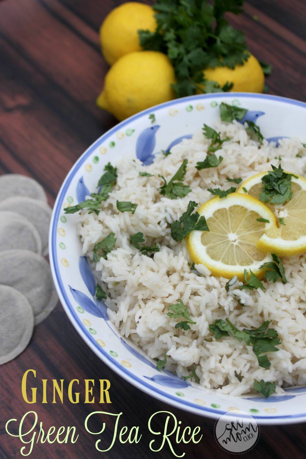 This Ginger Green Tea Rice Recipe is a really easy way to jazz up a side dish recipe. We love it with tacos! A fun twist on your basic rice recipe that pairs perfectly with your favorite spicy dishes. Yum!