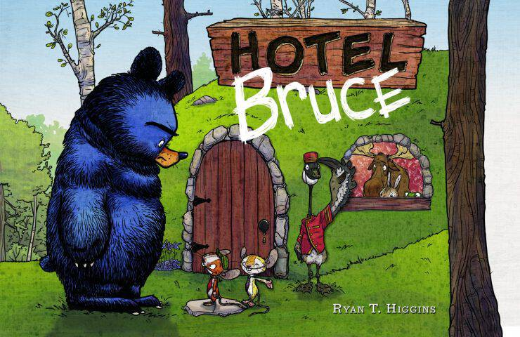 Hotel Bruce: New Disney-Hyperion Book Will Have Your Kids Laughing + Giveaway