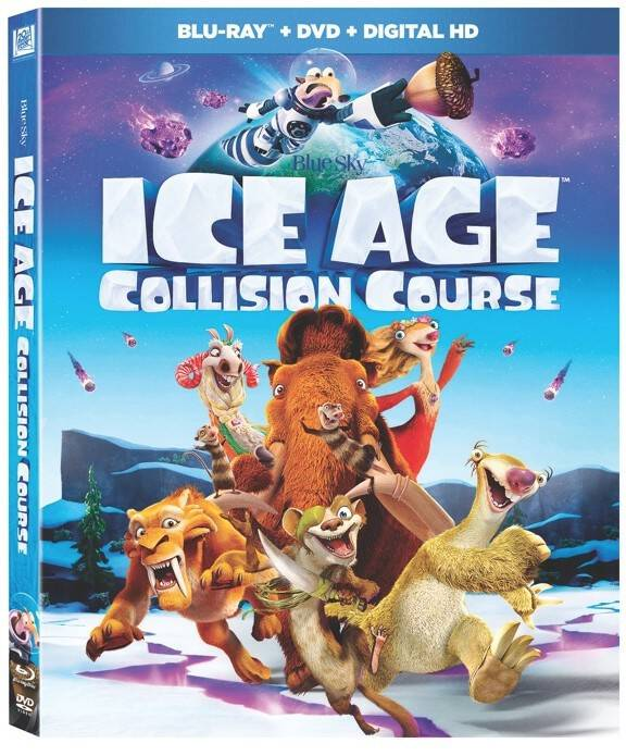 ICE AGE: COLLISION COURSE Available On Blu-ray™, DVD, and 4K Ultra HD Disc Now!