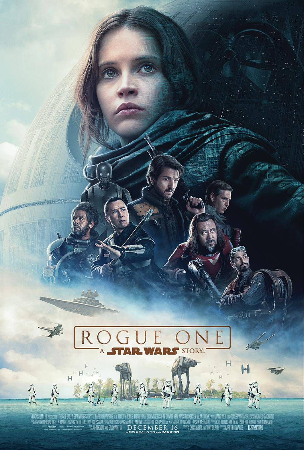 Woot! It's here! Check out the amazing new ROGUE ONE: A STAR WARS STORY trailer. ROGUE ONE hits theaters December 16, 2016!