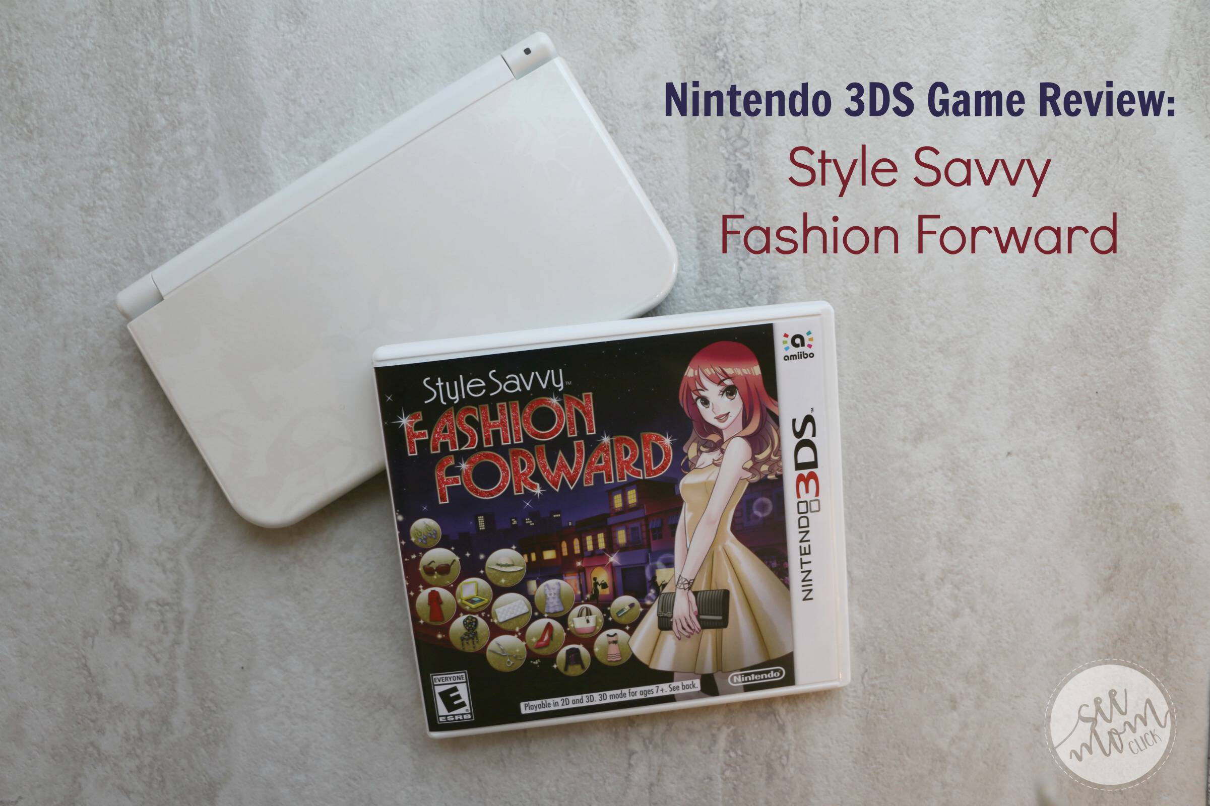 Now your kids can learn what it's like to be a fashion designer with this new game, Style Savvy Fashion Forward for Nintendo 3DS!