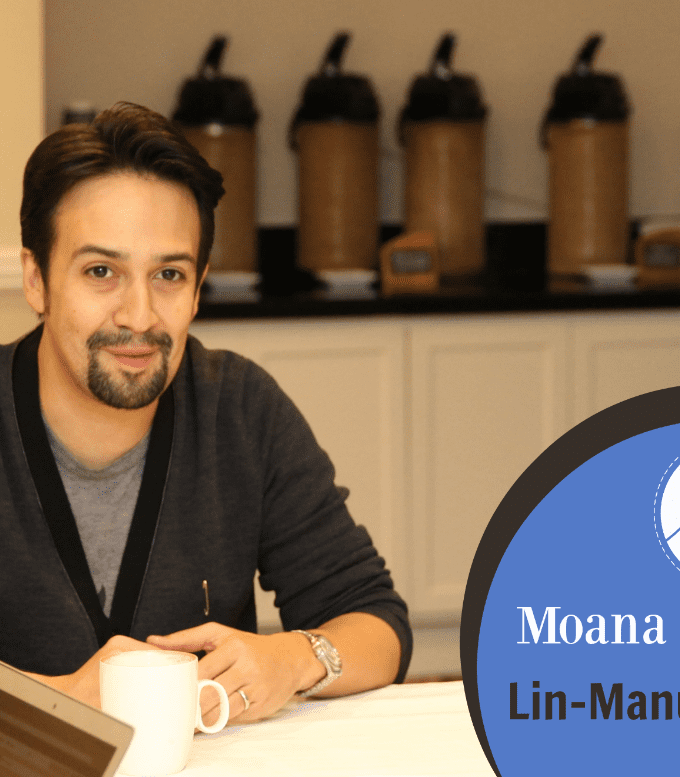 You are going to love the soundtrack for Disney's MOANA. I'm obsessed with the music by Lin-Manuel Miranda. See what he said about his role in the film!