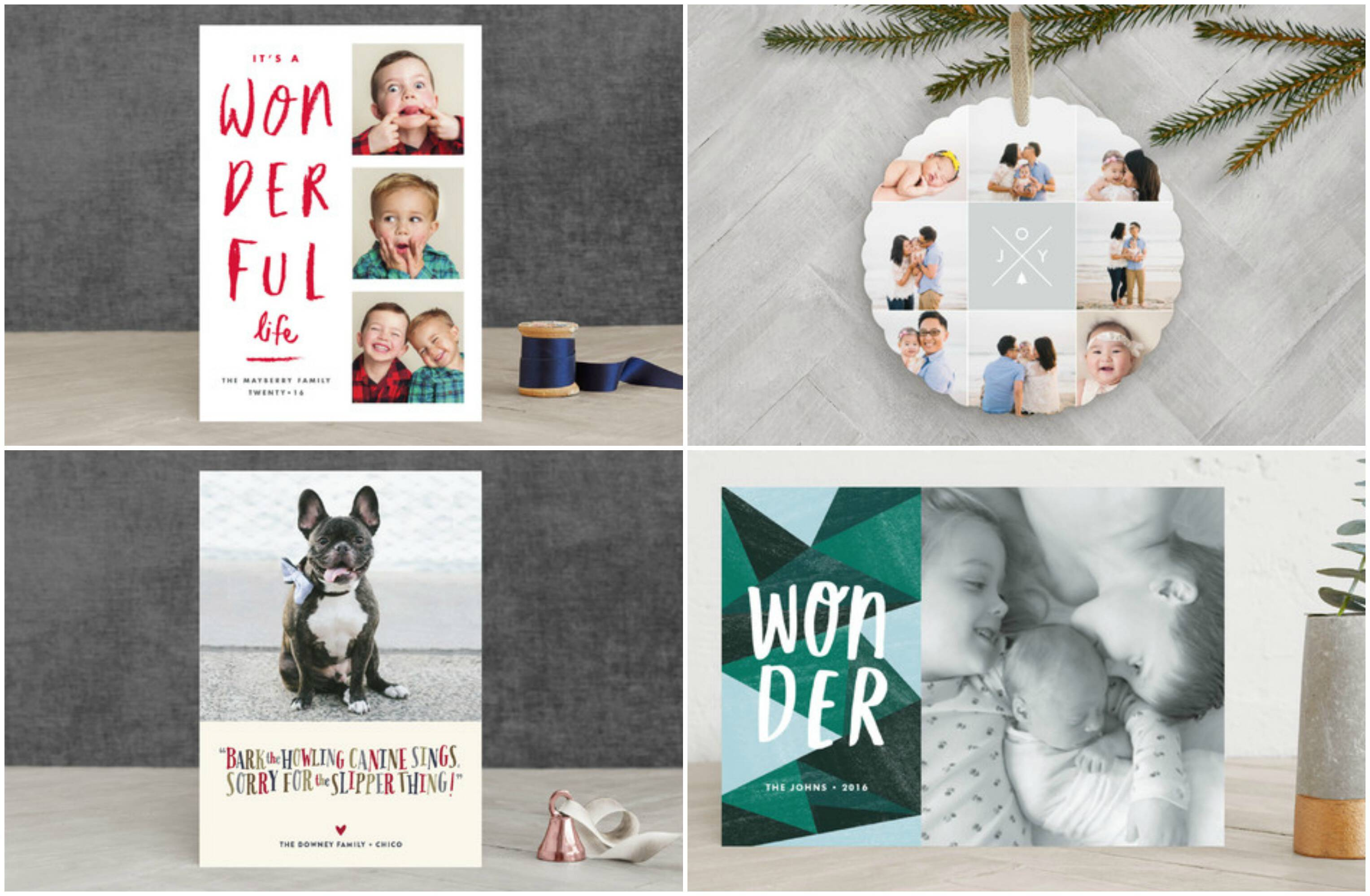 Looking for unique, gorgeous, and really special cards this year? Order your holiday cards from Minted.com! They have a beautiful selection in many styles.