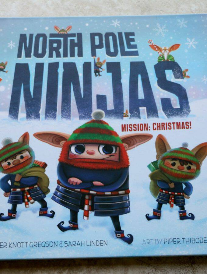 North Pole Ninjas: Stealthily Giving The Gift of Kindness This Holiday Season + Giveaway