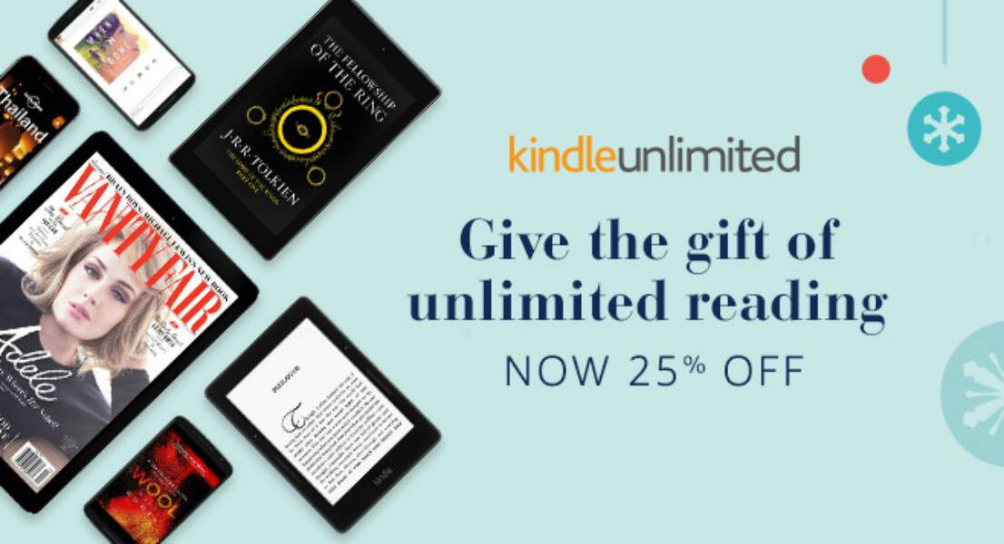 Kindle readers! Don't miss this opportunity to save 25% on Kindle Unlimited. Access to over 1 million ebooks throughout the year + more!