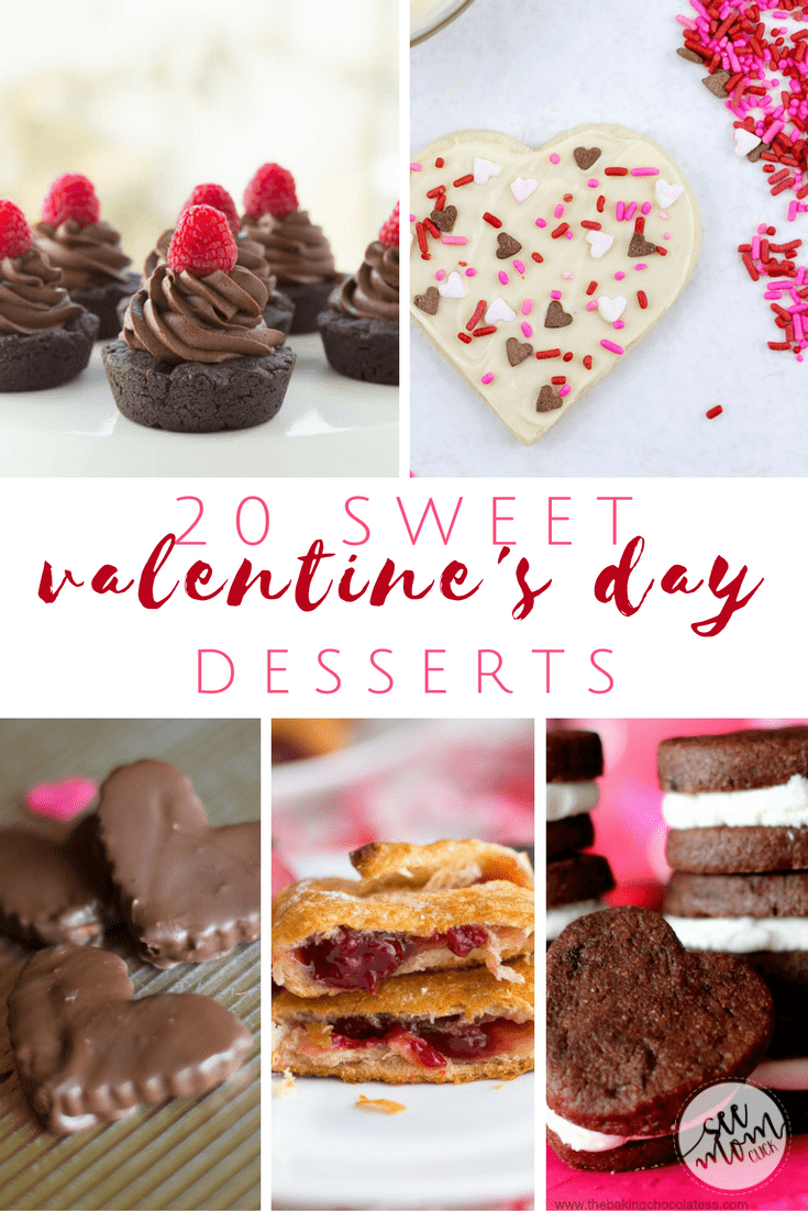 What Valentines ideas do you have to celebrate this sweet day? Surely a treat is on the agenda! Try one of these 20 sweet Valentine's Day desserts!