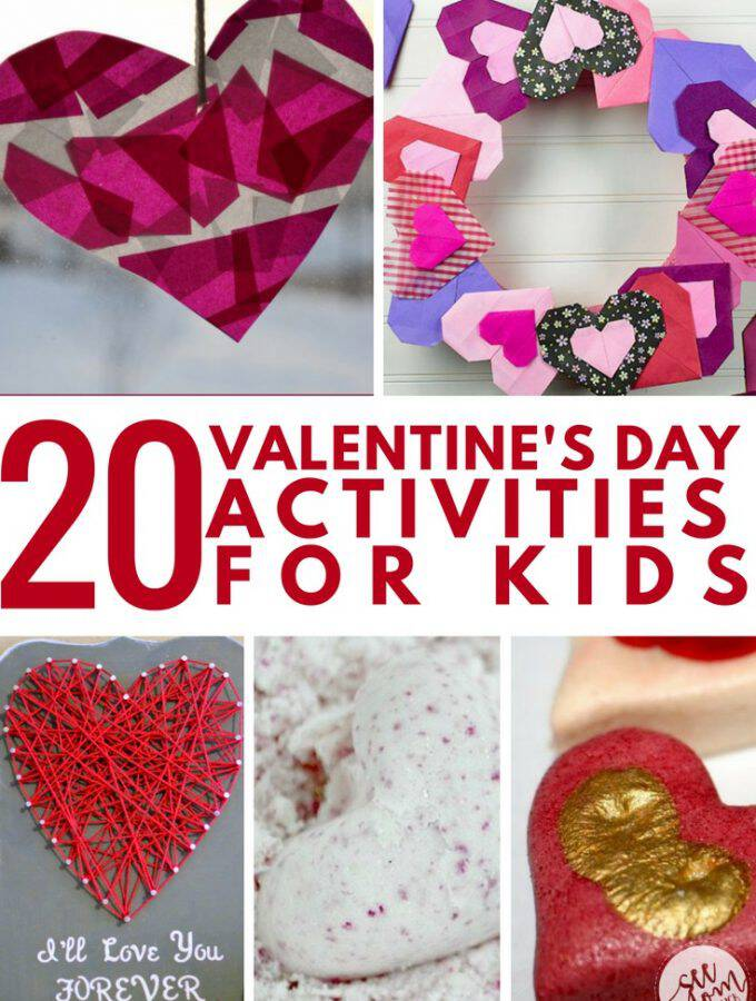 20 Valentine's Day Activities For Kids
