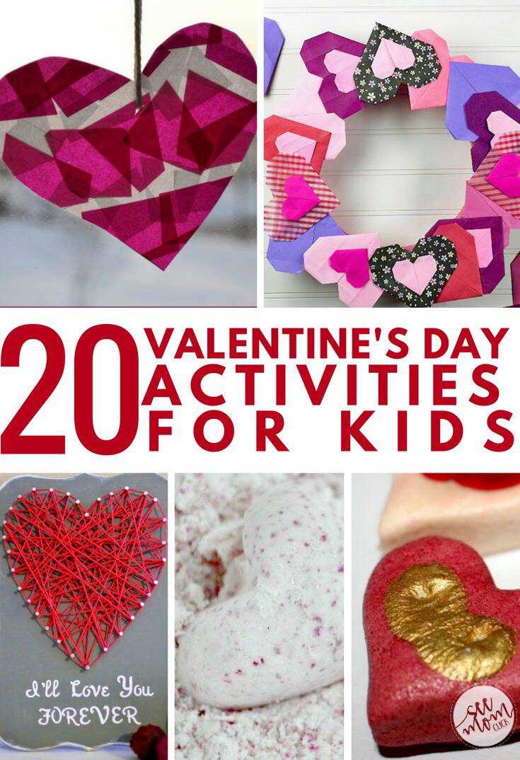 Keep your sweeties busy with these fun Valentine's Day activities for kids! Fun Valentines ideas are sweet to share with your loved ones. Crafts, DIY gifts, and more!