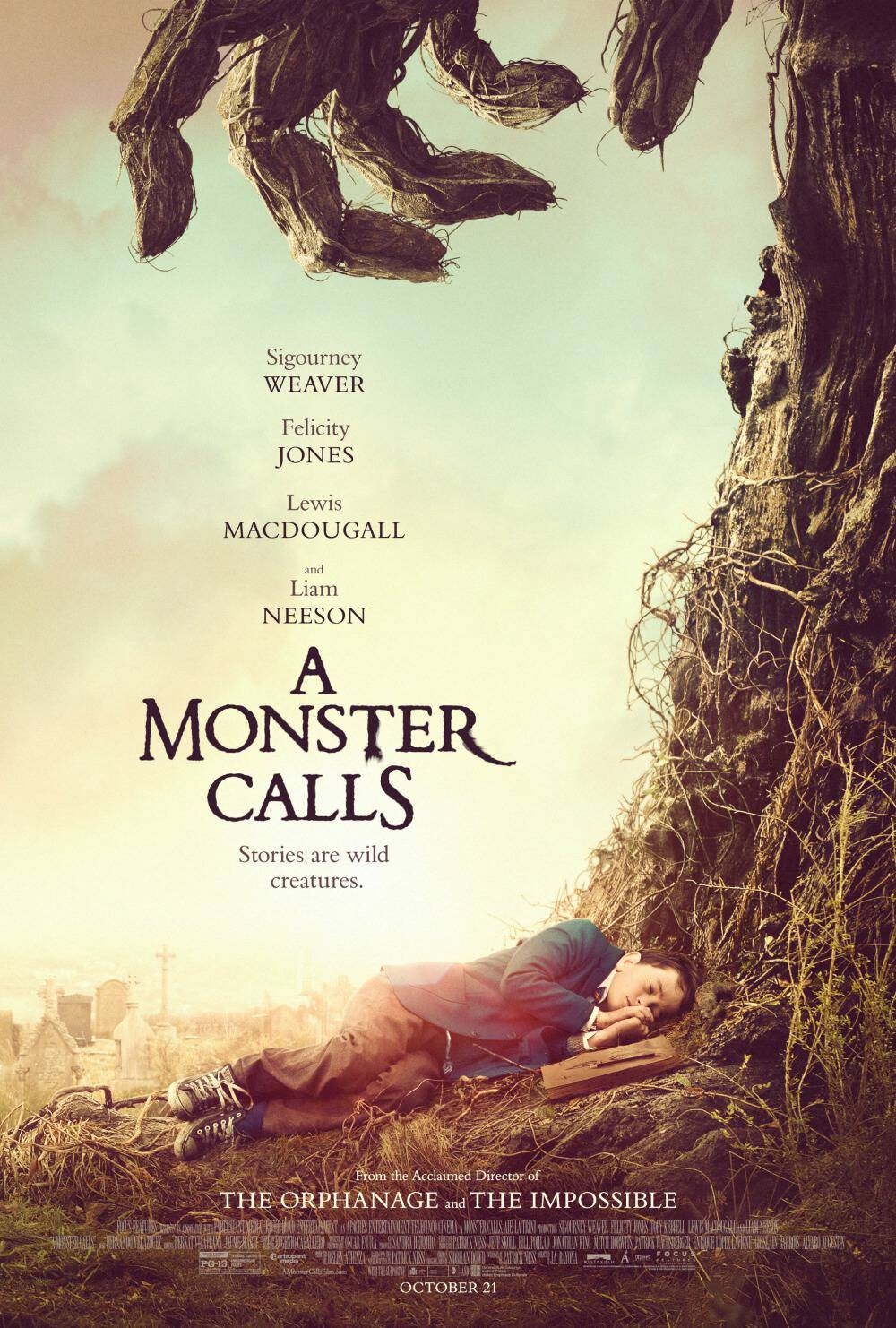 My family is so excited for this movie! A Monster Calls is in theaters everywhere January 6. I have the details plus a fun giveaway!