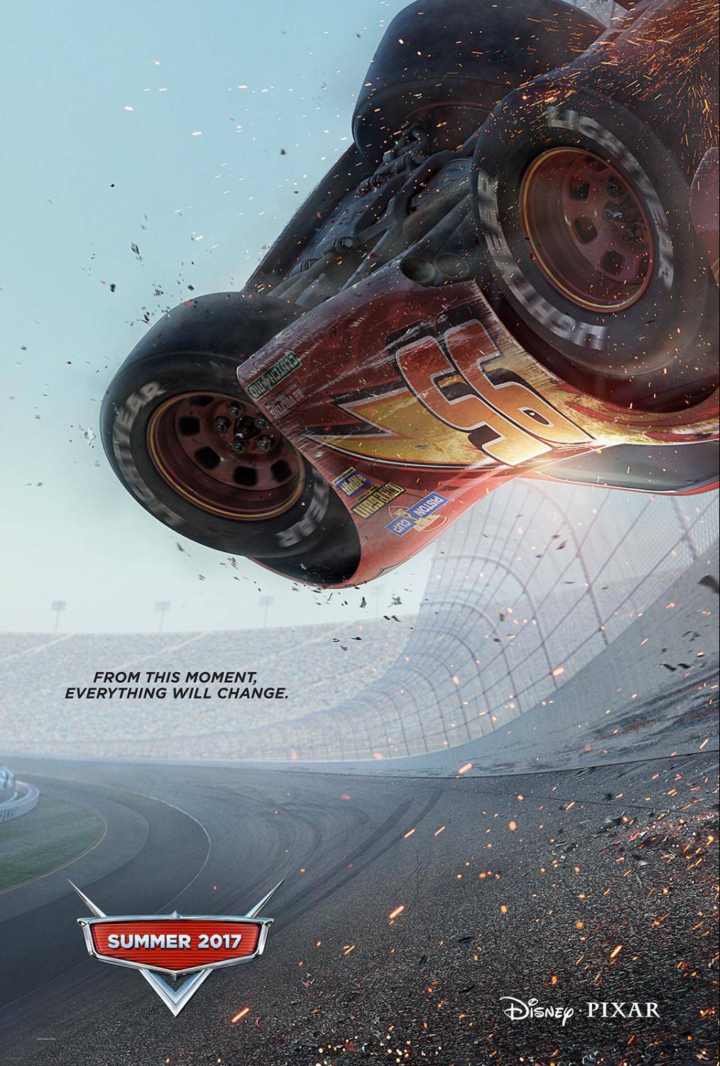 Cars 3 is in theaters this summer, June 16, 2017! Check out this extended sneak peek and meet the brand new characters! Vroom vroom!