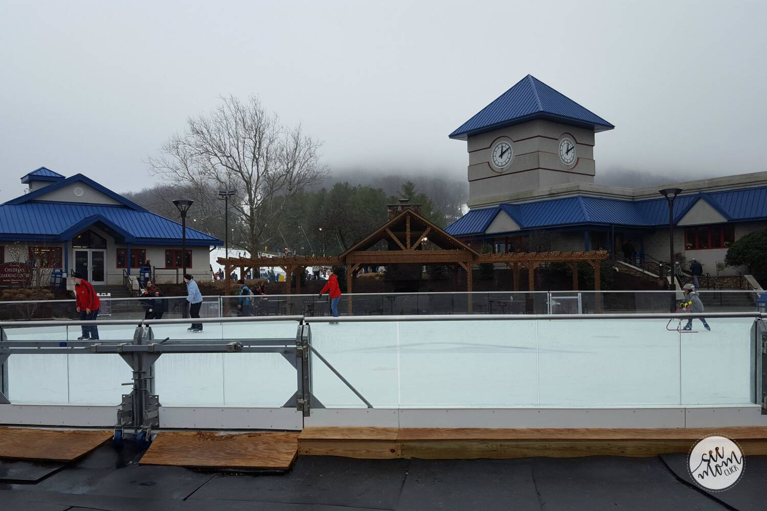 Ice Skating Liberty Mountain