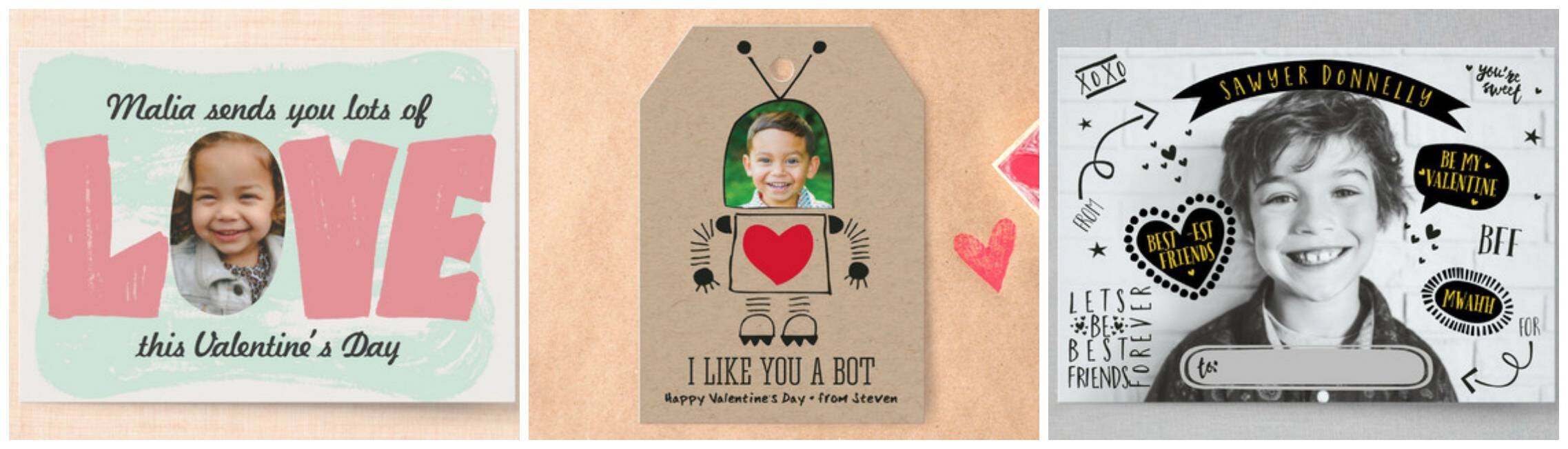 Photo Valentine Cards