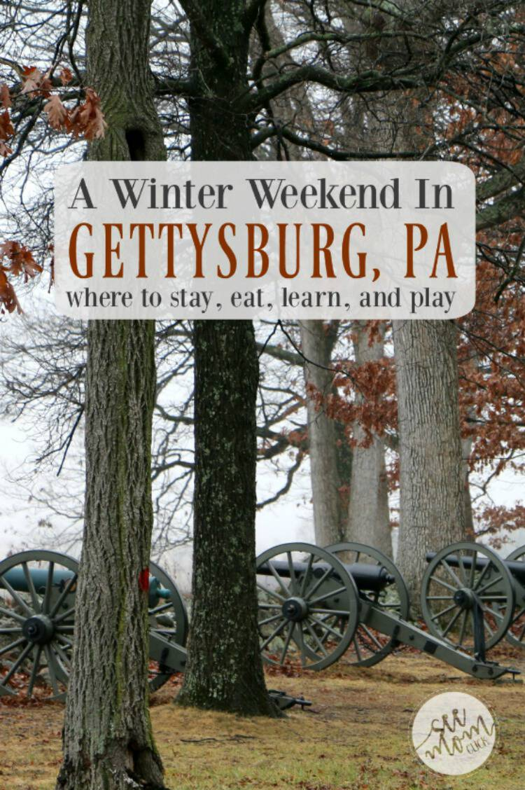 In a town known mostly for its historic significance, there's a lot more to do than tour the battlefield (thought that is a must!). A weekend getaway in Gettysburg, PA is both education and so much fun in the winter! Here are our favorite stops.
