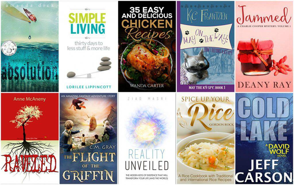 10 Free Kindle Books 2-16-17