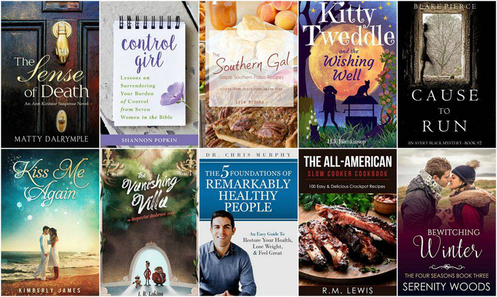 10 Free Kindle Books 2-20-17