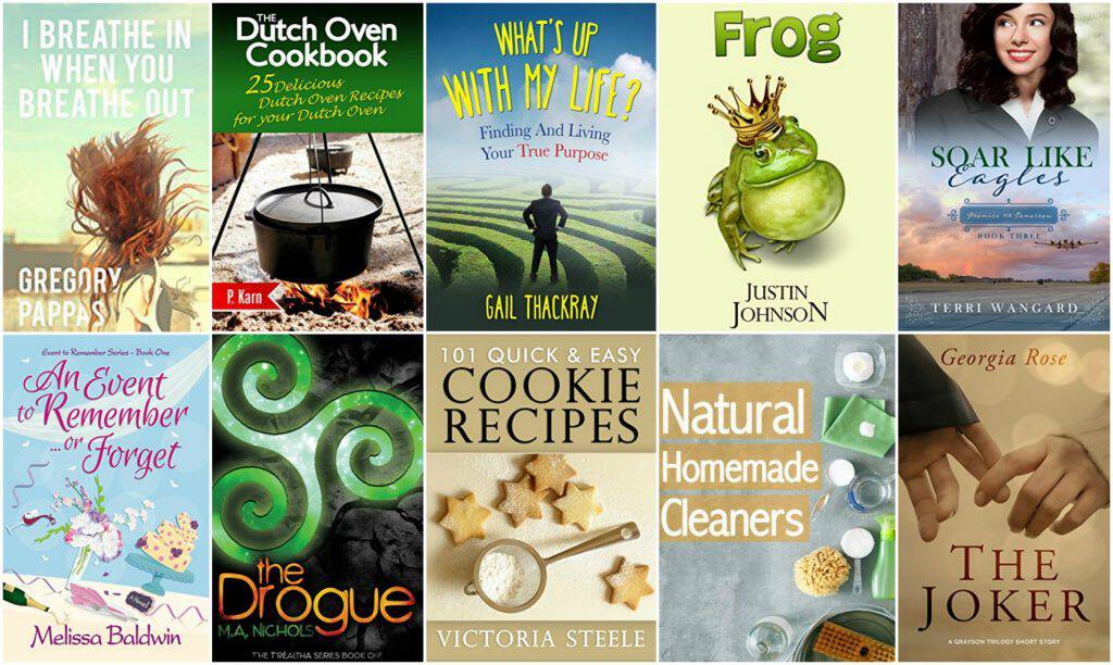 10 Free Kindle Books 3-29-17
