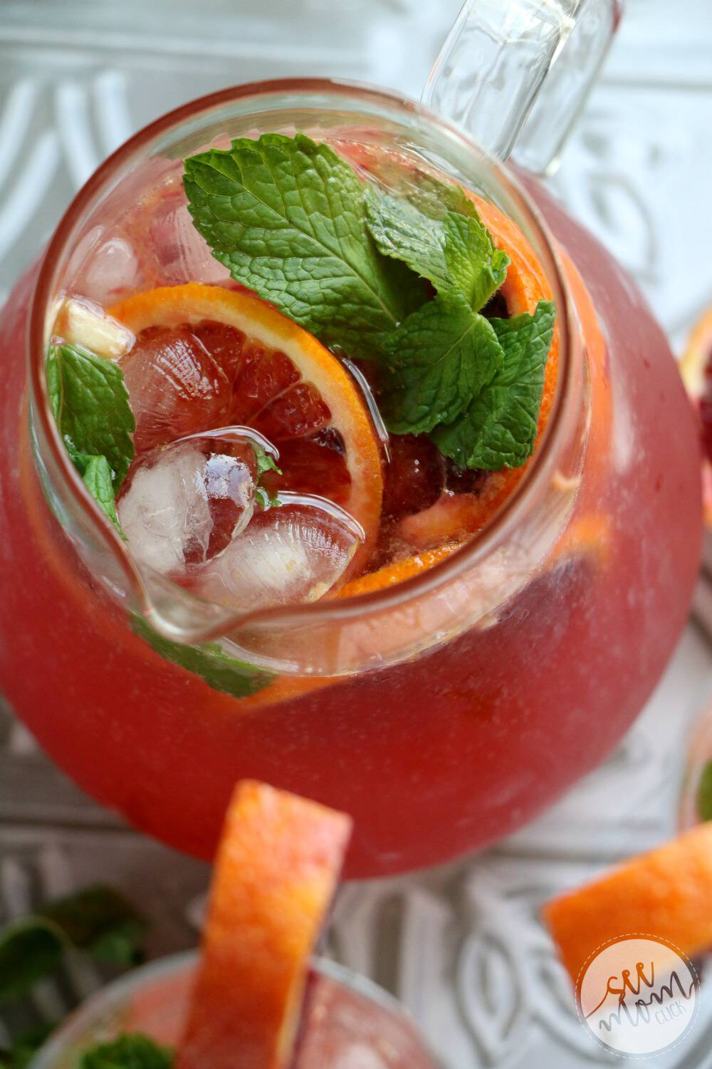 I have your new favorite blood orange cocktail right here! This Blood Orange Mimosa recipe is so easy to make and just delicious. It's perfect for party drinks or holiday celebrations. Cheers!