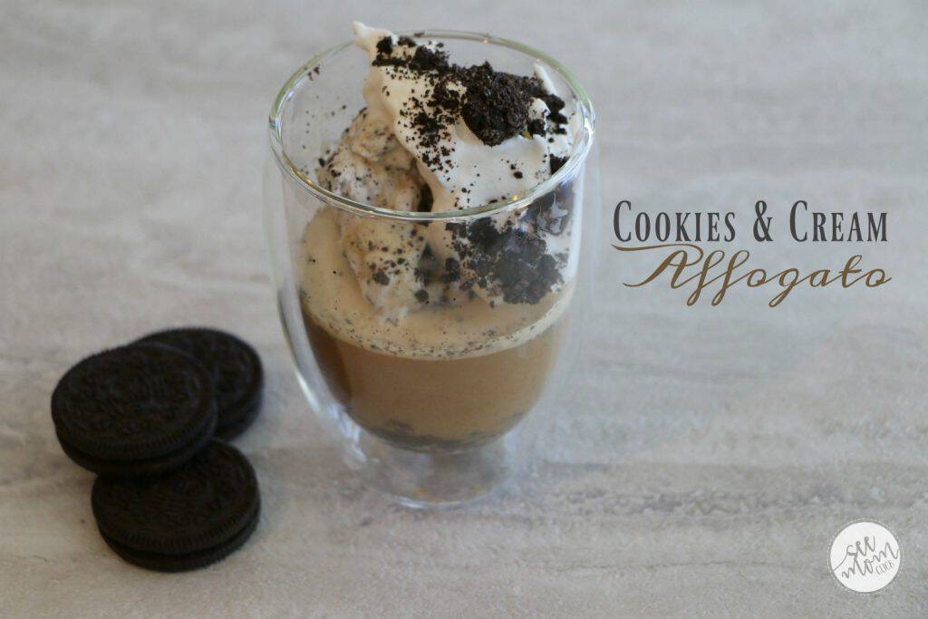 This Cookies and Cream Affogato Recipe is so easy to make and it doubles as both a dessert and a delicious coffee recipe. Cheers!