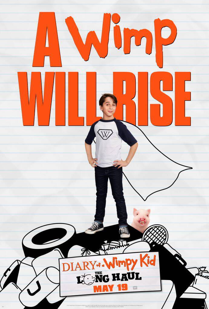 Diary of a Wimpy Kid: The Long Haul hits theaters May 19! Now you can 'wimp yourself' with this fun interactive tool, plus I have a great giveaway!