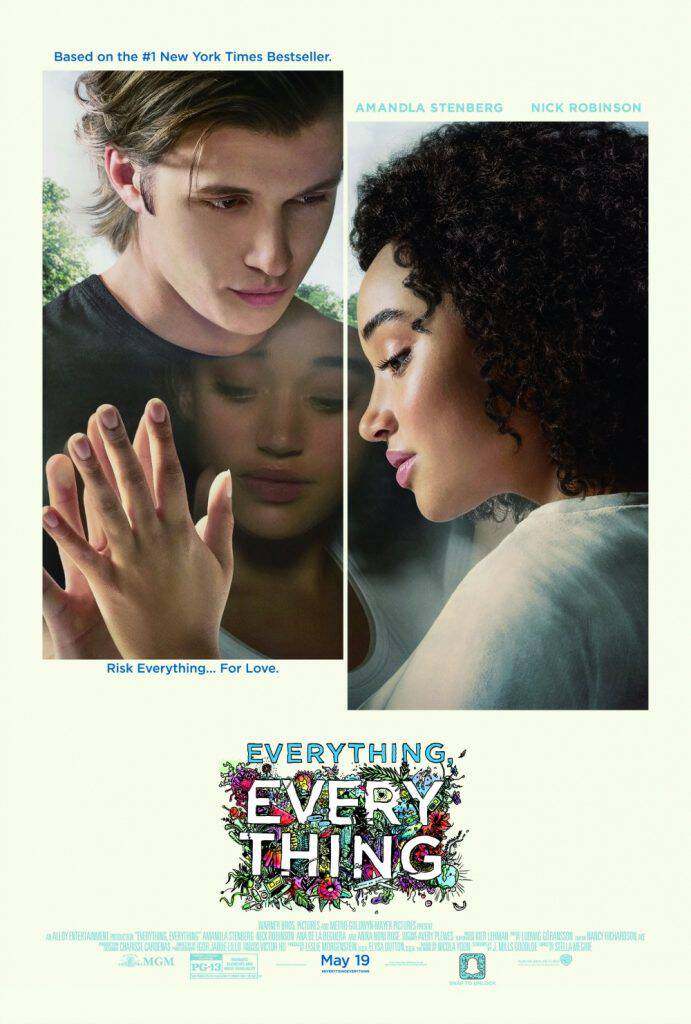 Everything, Everything hits theaters May 19. I have the trailer (you'll love it!) plus images from the film and a great giveaway for you!