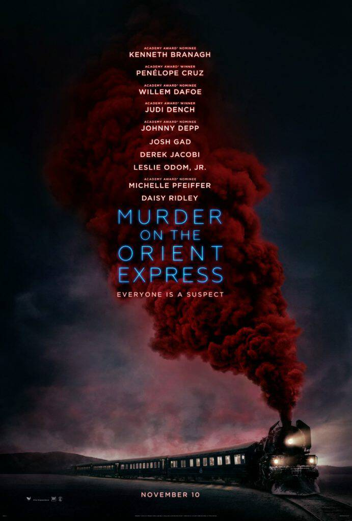 This all-star cast is going to kill it on the big screen! Murder On The Orient Express hits theaters on November 10. Based on the best-selling book!