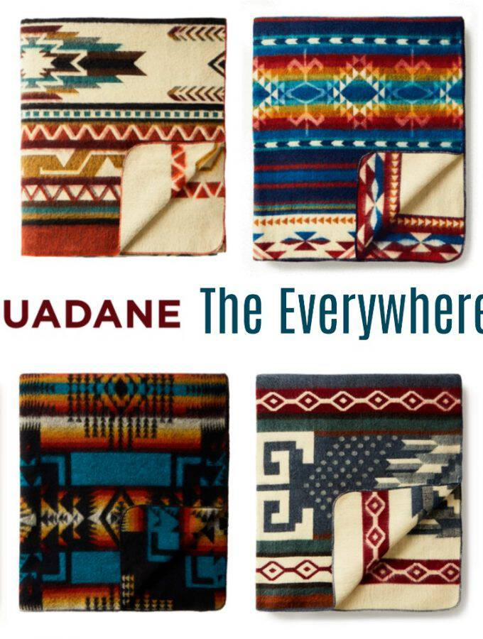 The Only Blanket You'll Ever Need: Ecuadane Everywhere Blanket + Giveaway