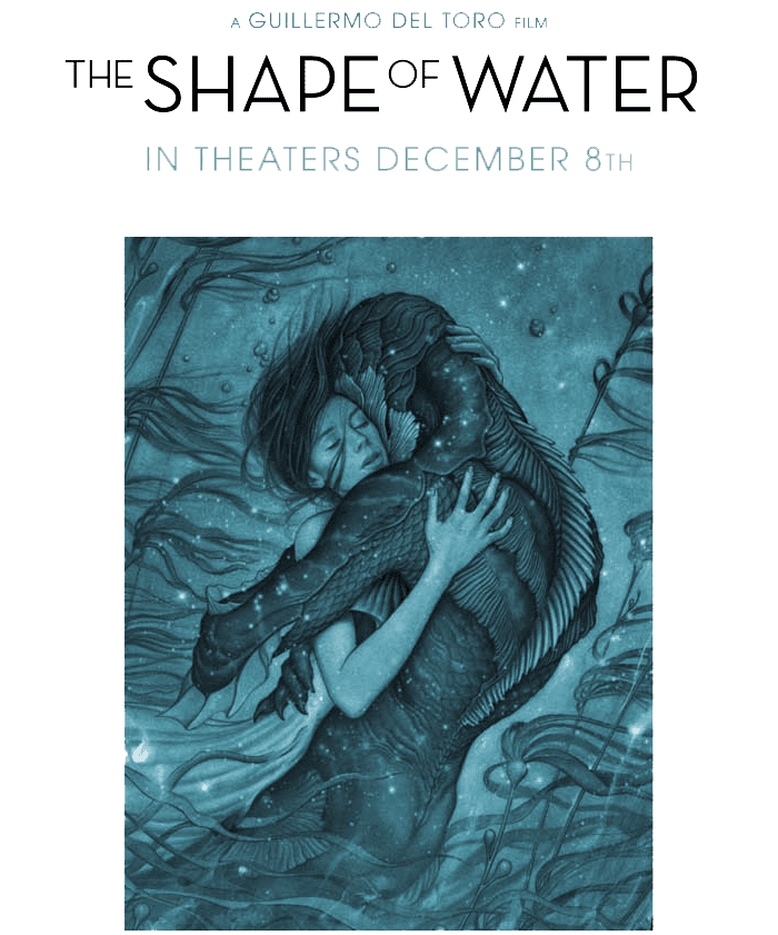 The Shape of Water will be in theaters on December 8. Check out the trailer for this unique, amazing film. Can't wait to see more!