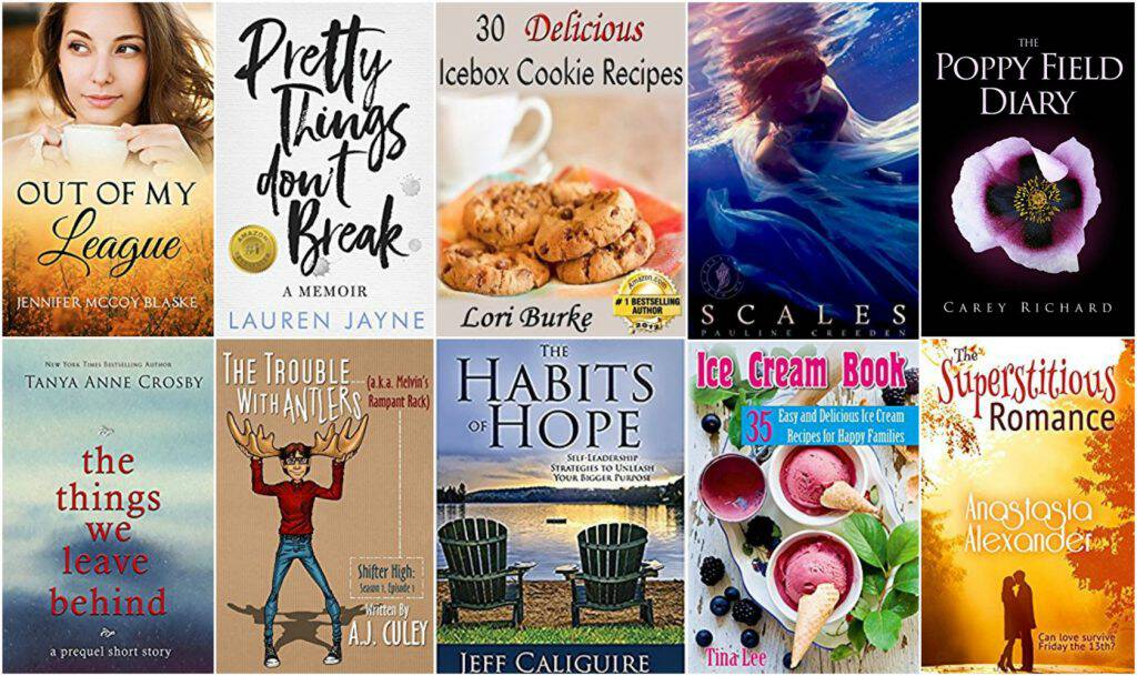 10 Free Kindle Books 8-10-17