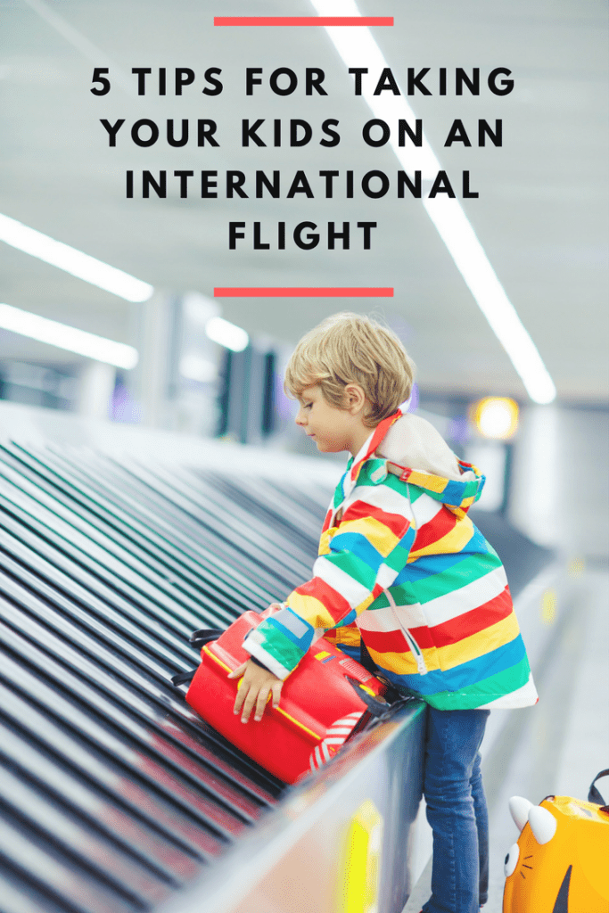 A little nervous about taking the kids on an overseas trip? These tips for taking your kids on an international flight will ease your mind and help you prepare for an exciting family travel adventure!