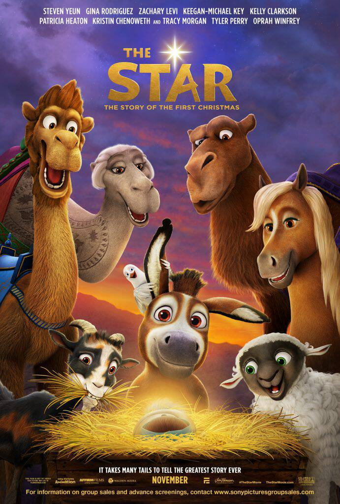 Check out The Star teaser trailer, an adorable family-friendly moving hitting theaters November 10, 2017, in time for the holiday season!