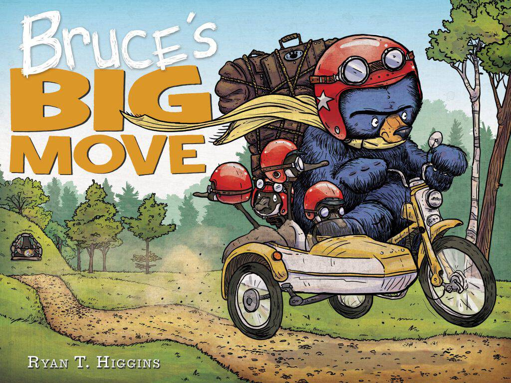 Bruce's Big Move will have your kids laughing! Check out the latest'Bruce' installment in the Disney-Hyperion series for children.