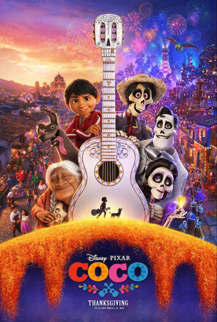 Disney Pixar COCO hits theaters November 22! I have the awesome new trailer plus some fun, free printable Coco coloring pages!
