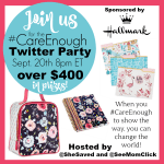 #CareEnough Hallmark Twitter Party September 20 at 8pm ET – RSVP Here! ($400+ In Prizes!)