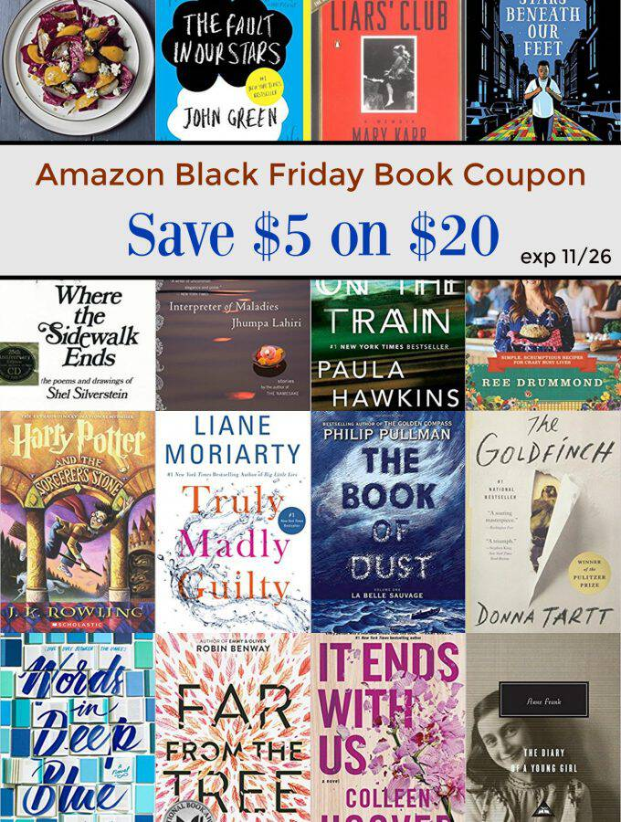 LAST DAY: Amazon Book Coupon: Save $5 on $20 Book Purchase