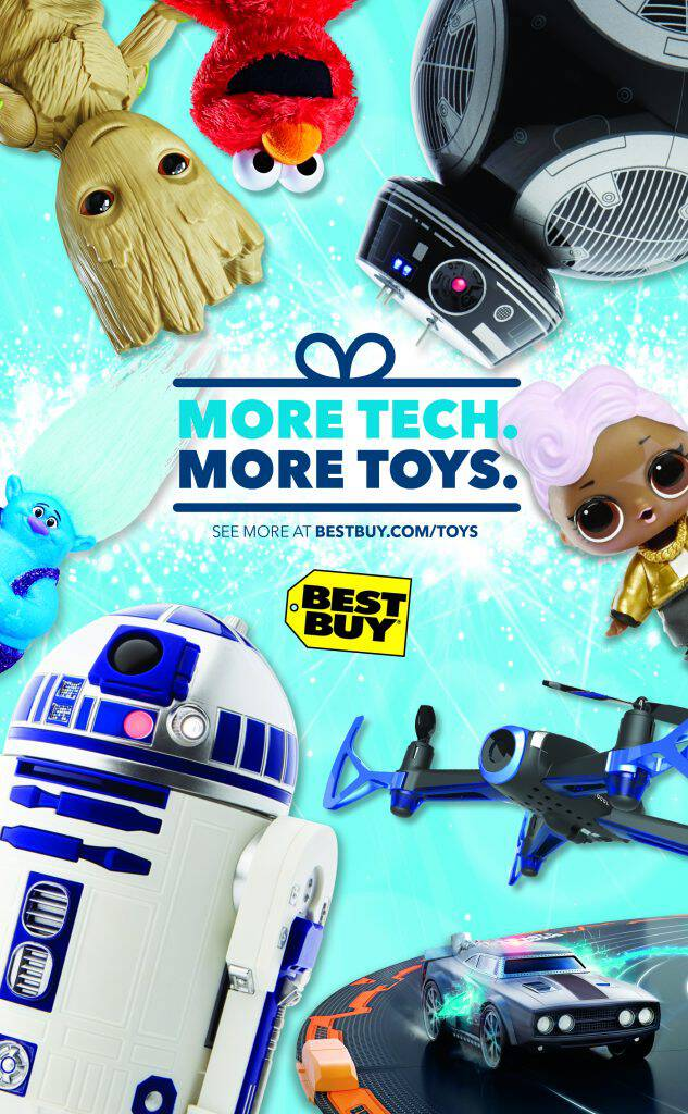 Did you know Best Buy is a great place to get your Christmas gifts for the kids? Check out our top picks from the Best Buy Holiday Toy Guide!