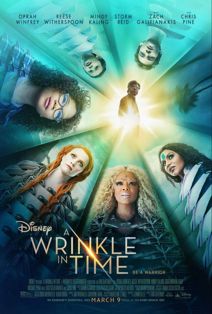 Check out the awesome A Wrinkle In Time new trailer and images from the film! This movie, based on the best-selling book, releases March 9, 2018!