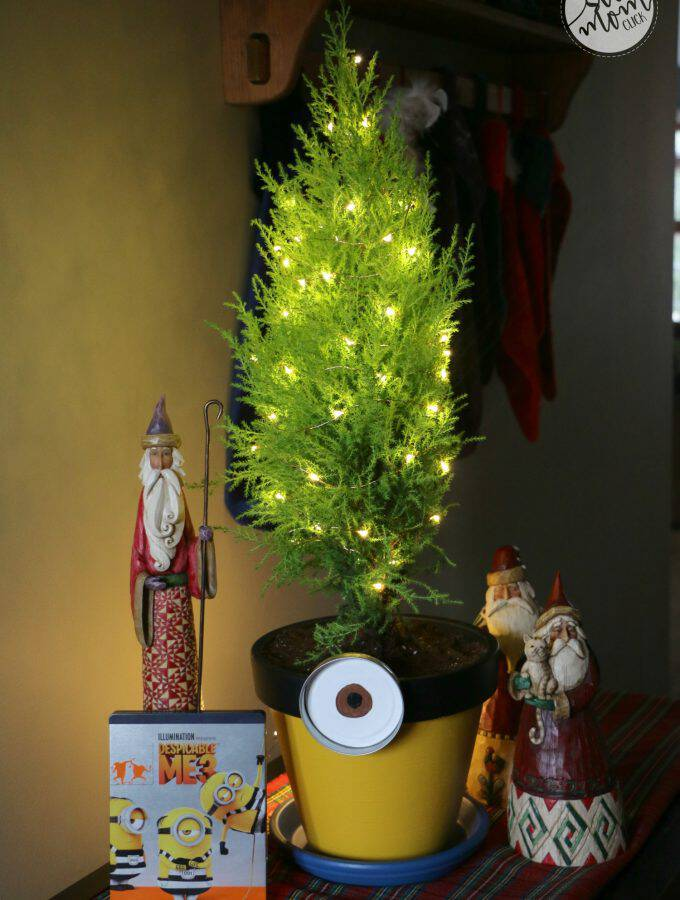 Minion Christmas Craft + Despicable Me 3 on Blu-Ray and DVD Now!