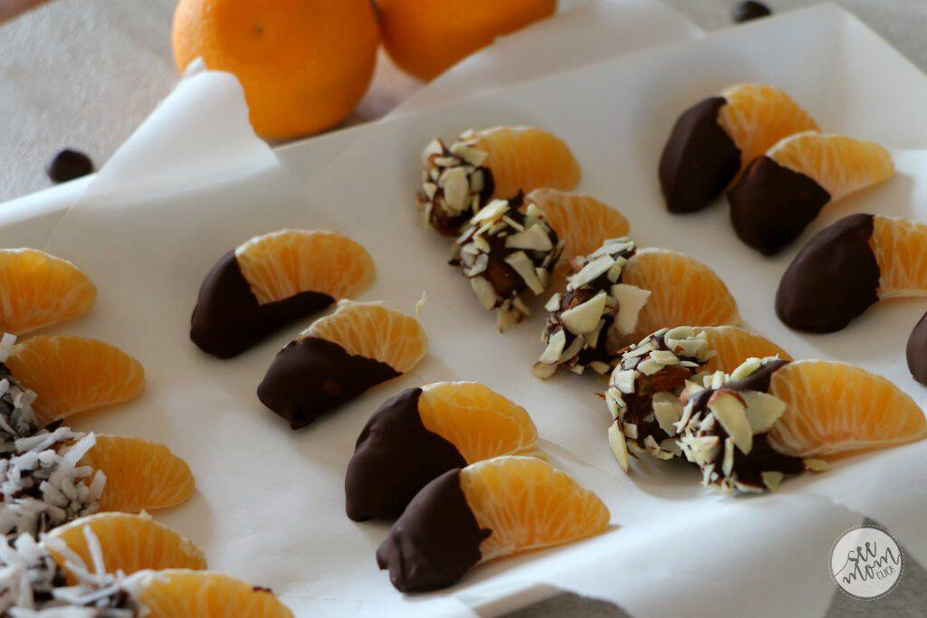 You can still keep a strong finger-foods game this holiday season without overindulging. Here are a few better-for-you appetizer ideas plus the world's easiest recipe for Chocolate Dipped Clementines. So good, so simple to make!