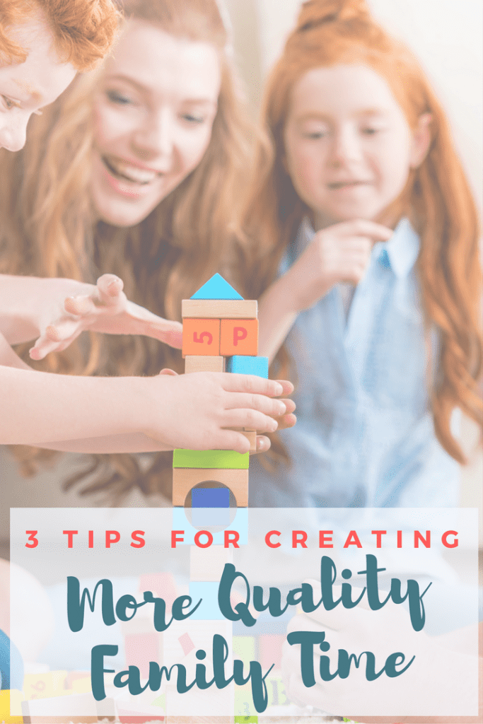 Life is SO busy - homework, practice, laundry. While the days are flying by, the kids are growing up. This year I'm really trying to check in and be more present, creating more quality family time and making more memories. Here are a few ways I'm making it happen!